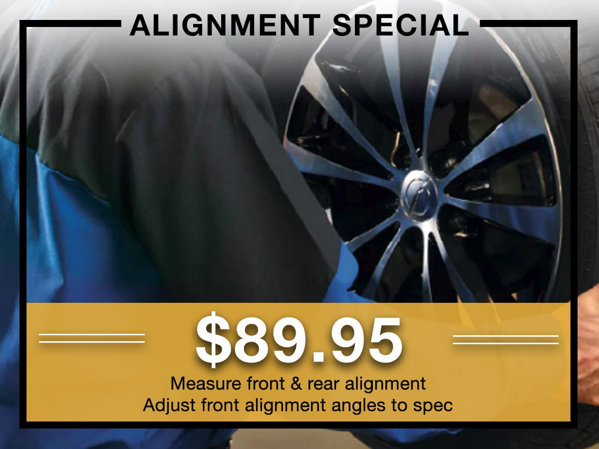 2-Wheel Front Wheel Alignment Service Milwaukee, WI