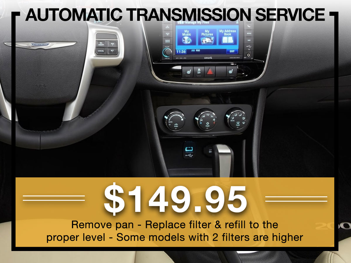 Automatic Transmission Service Milwaukee, WI