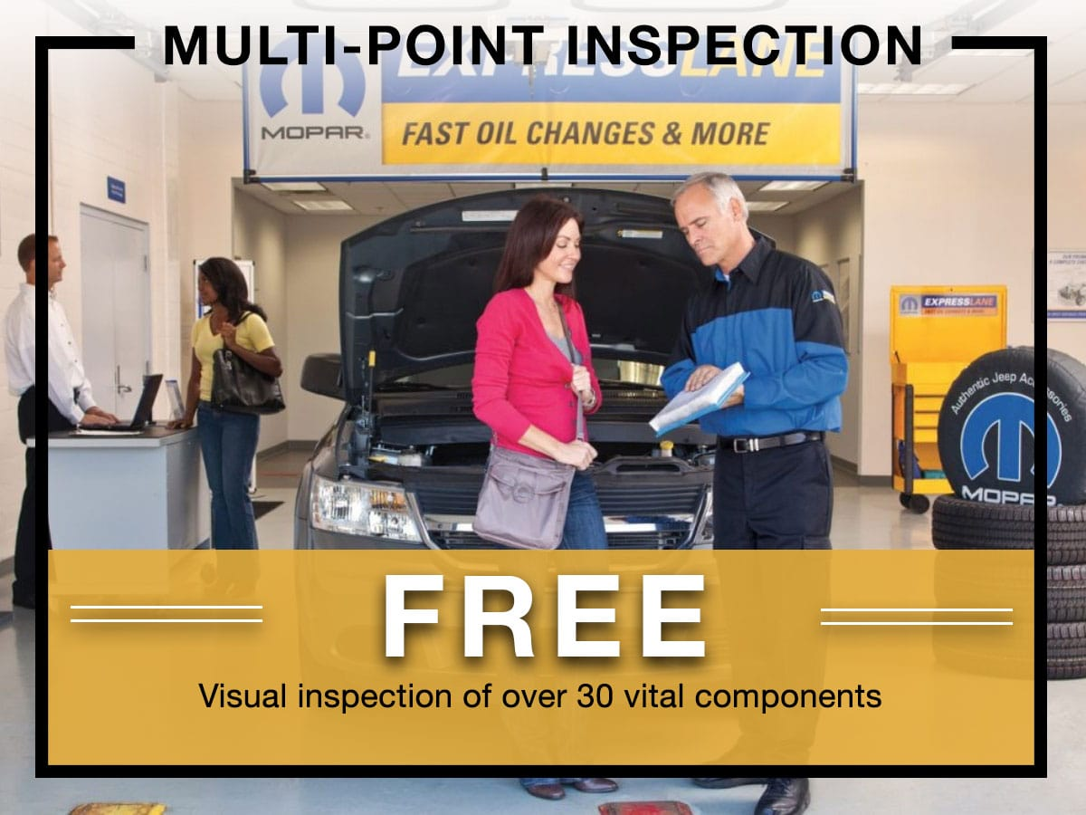Mopar Multi-Point Inspection Coupon Milwaukee, WI