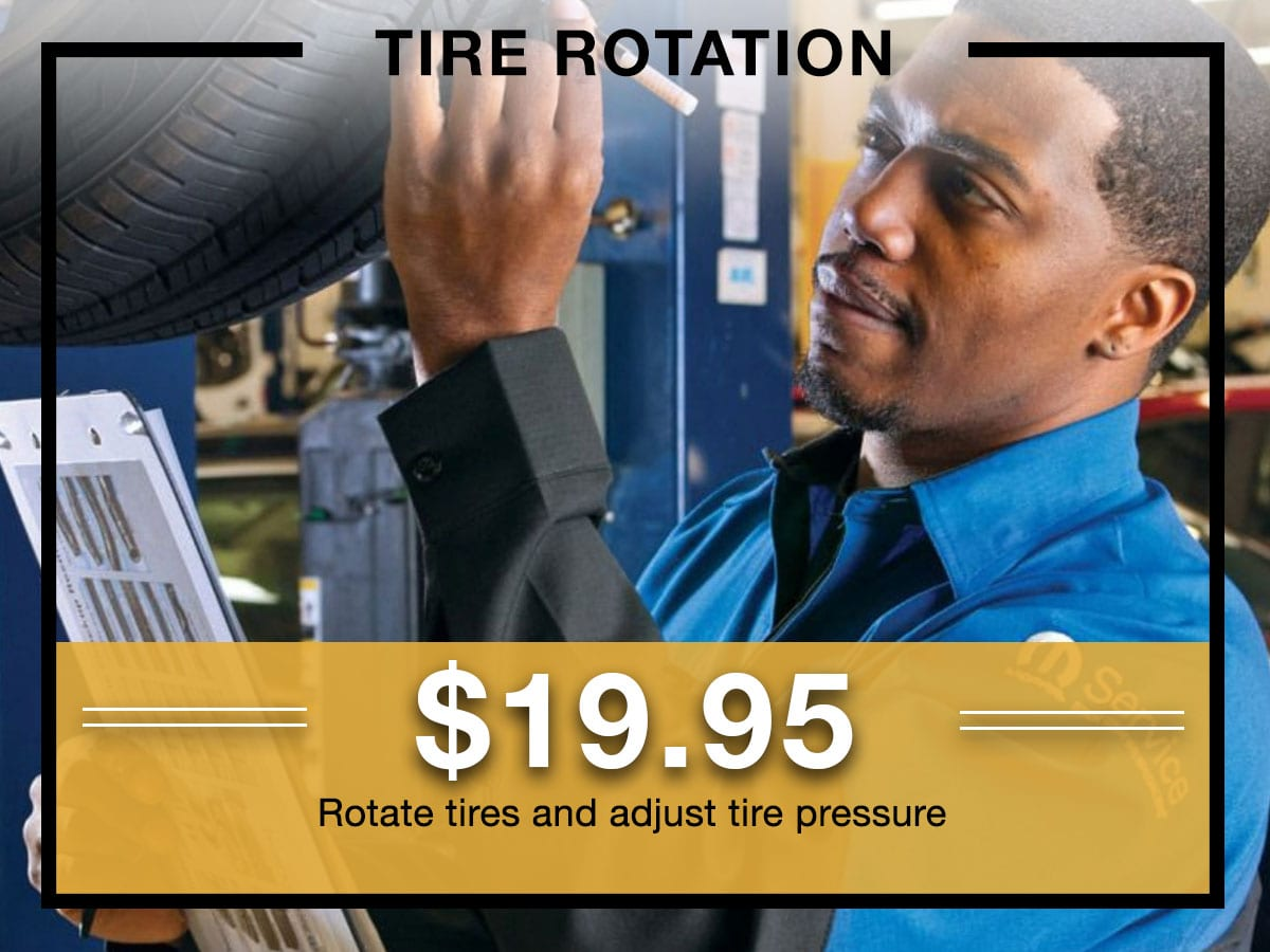 Mopar Tire Rotation Coupon Milwaukee, WI