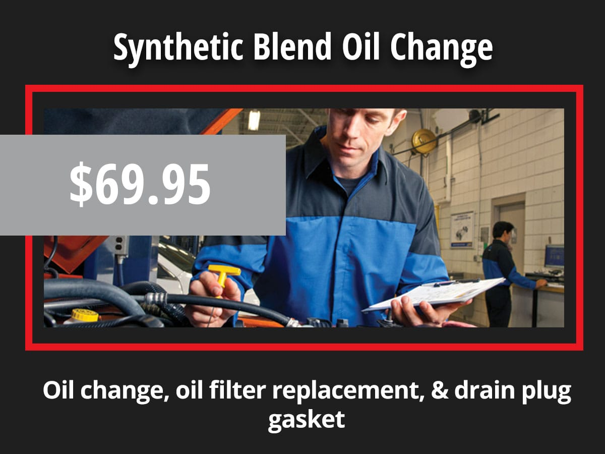 Chrysler Dodge Jeep Ram Oil Change Coupon Special