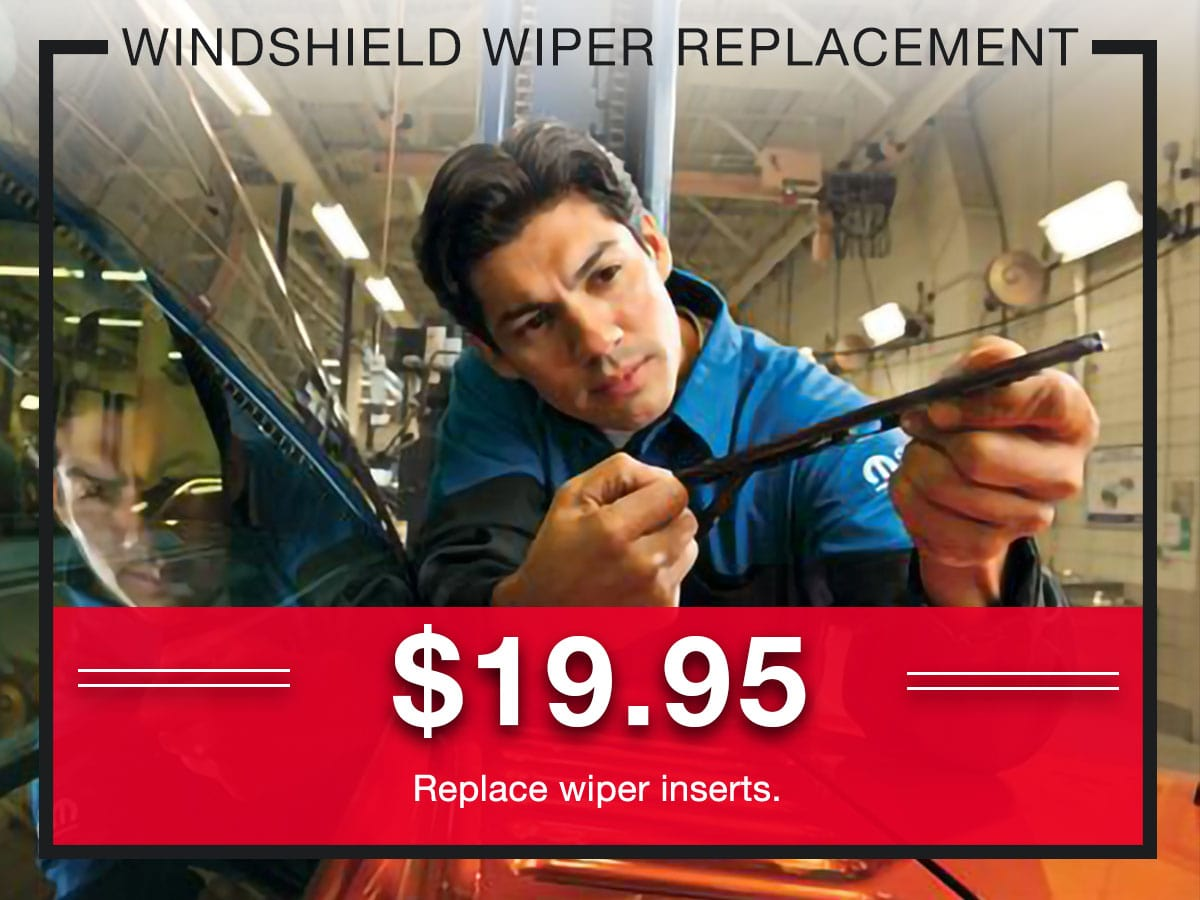 Windshield Wiper Replacement Service Special Coupons Header Lou Fusz Chrysler Jeep Dodge Ram Fiat O'Fallon, MO