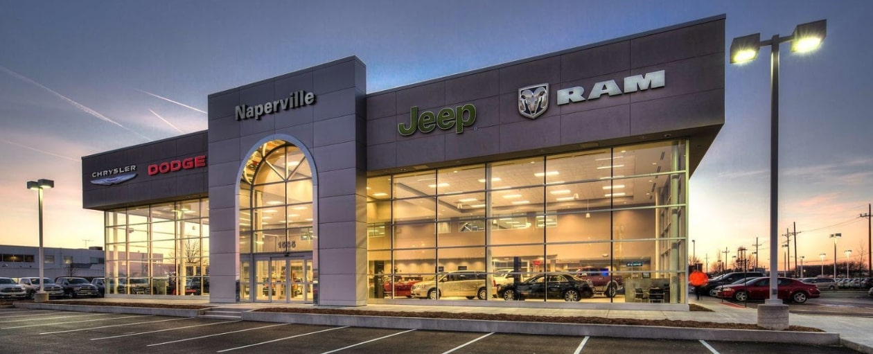 Naperville CDJR Service Center in Naperville, IL