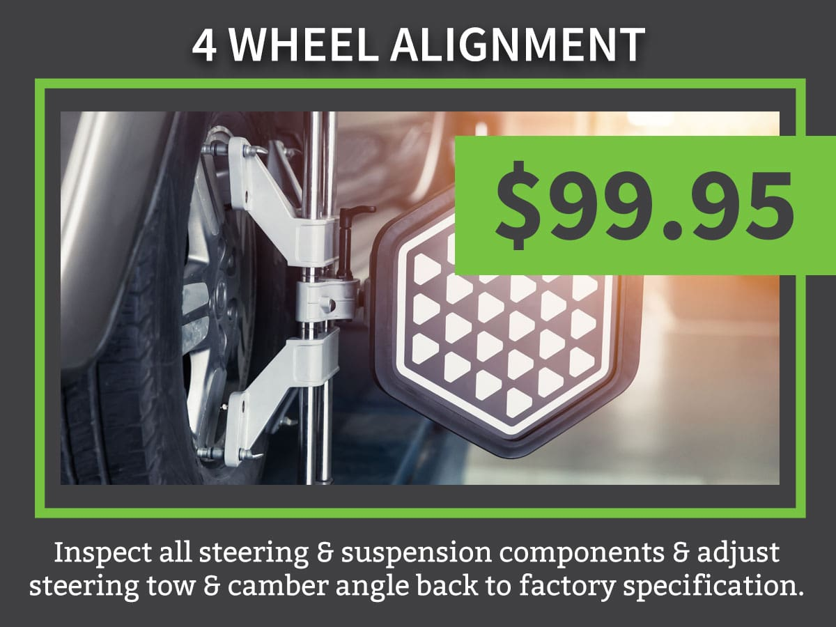 4 Wheel Alignment Service Special Coupon