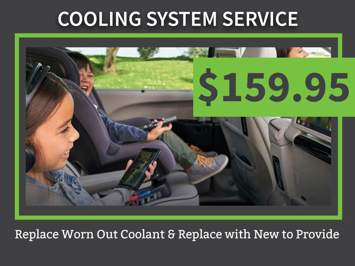 Mopar CDJR Cooling System Service Coupon Discount Special