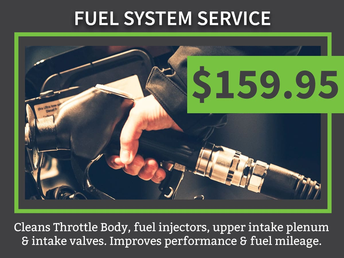 Fuel System Service Coupon