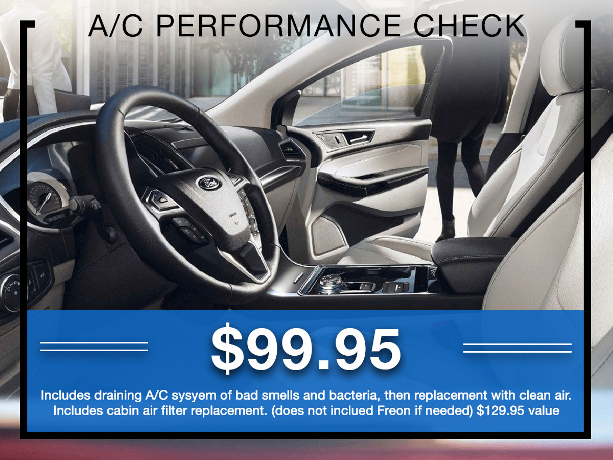 Germain Ford AC Performance Check Service Special