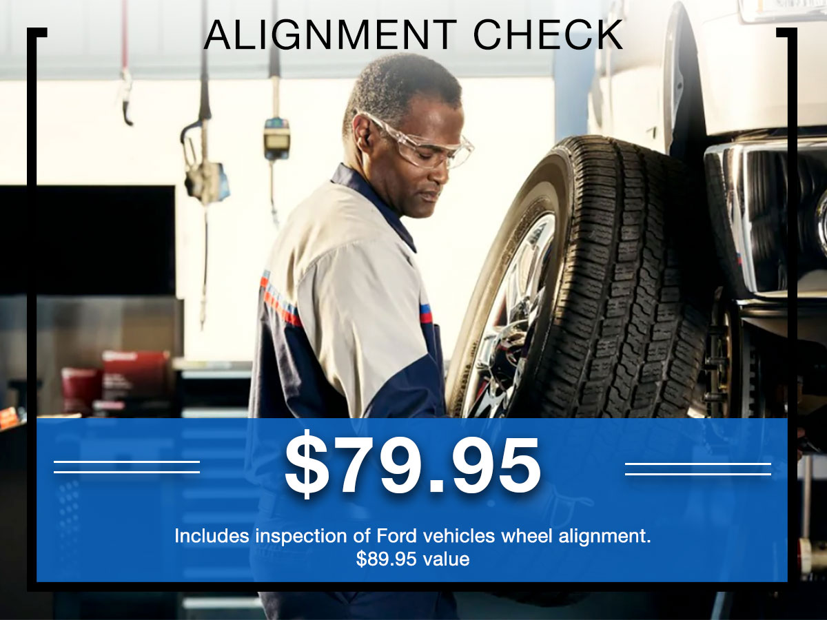 Germain Ford Alignment Check Service Special