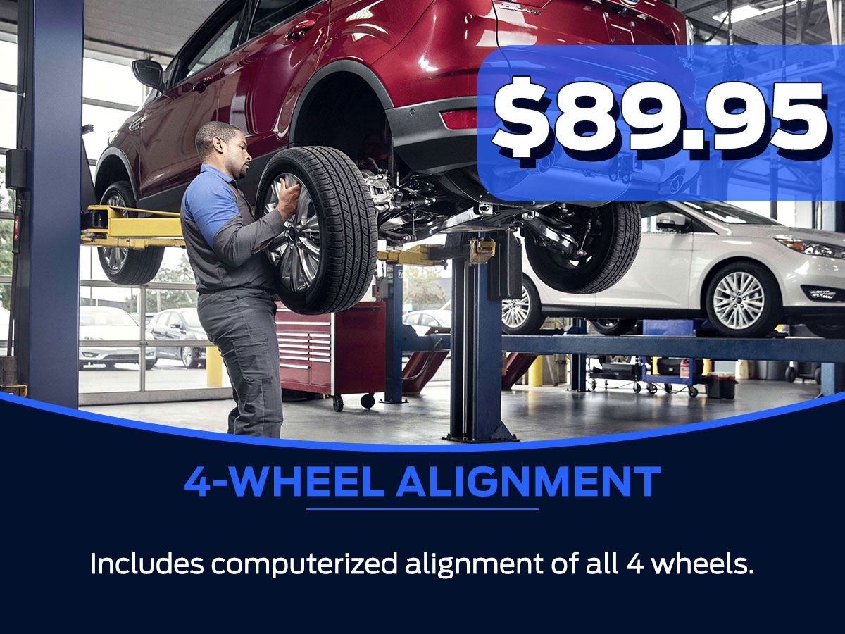 Sam Pack's Five Star 4-Wheel Alignment Service Special