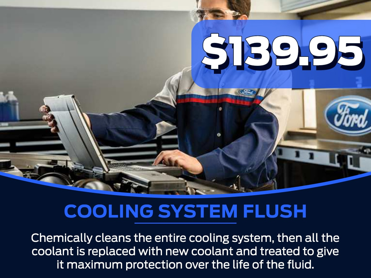 Sam Pack's Five Star Cooling System Flush Service Special