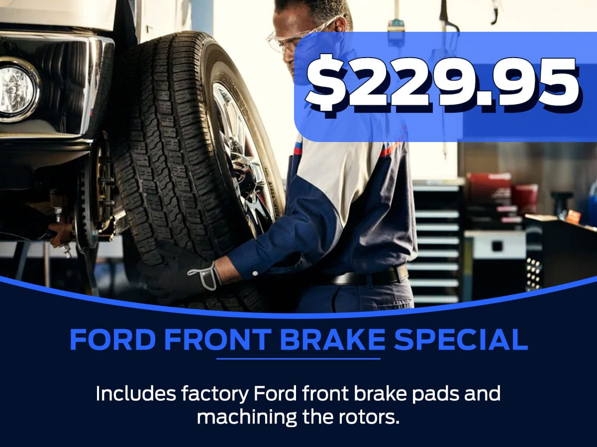 Ford Front Brake Special Service Special