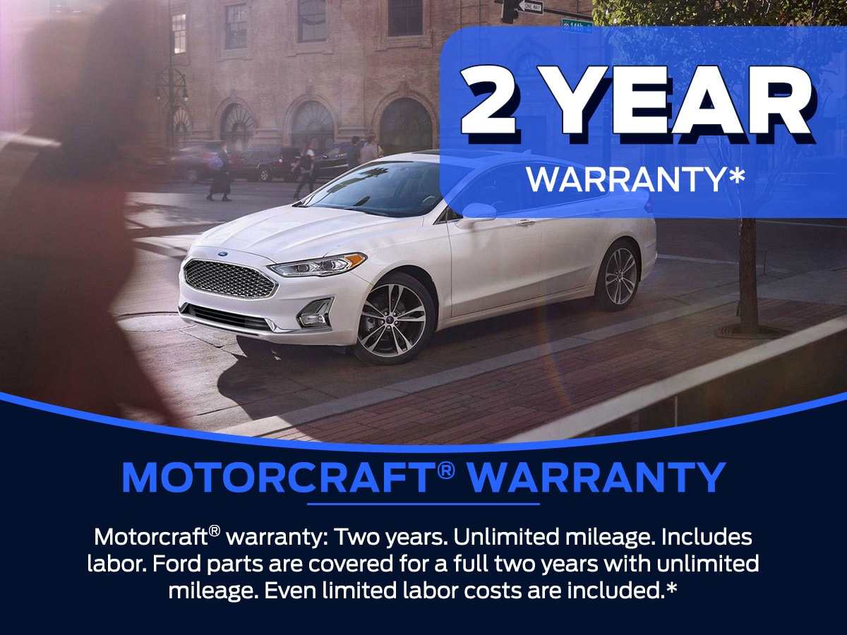 Sam Pack's Five Star Motorcraft® Warranty Service Special
