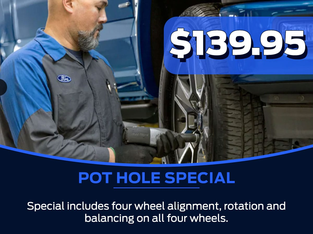 Sam Pack's Five Star Ford Pot Hole Service Special