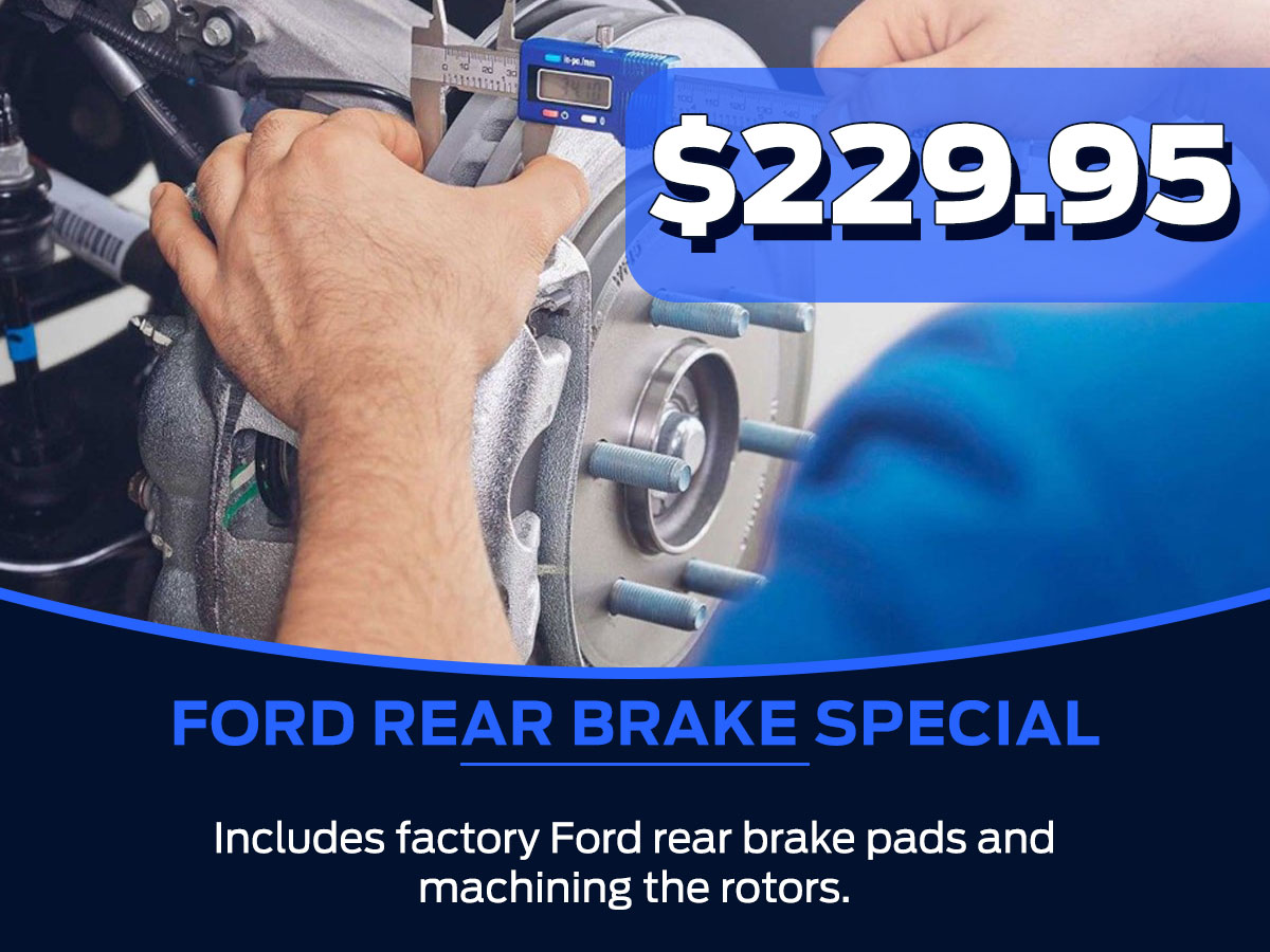 Ford Rear Brake Special Service Special