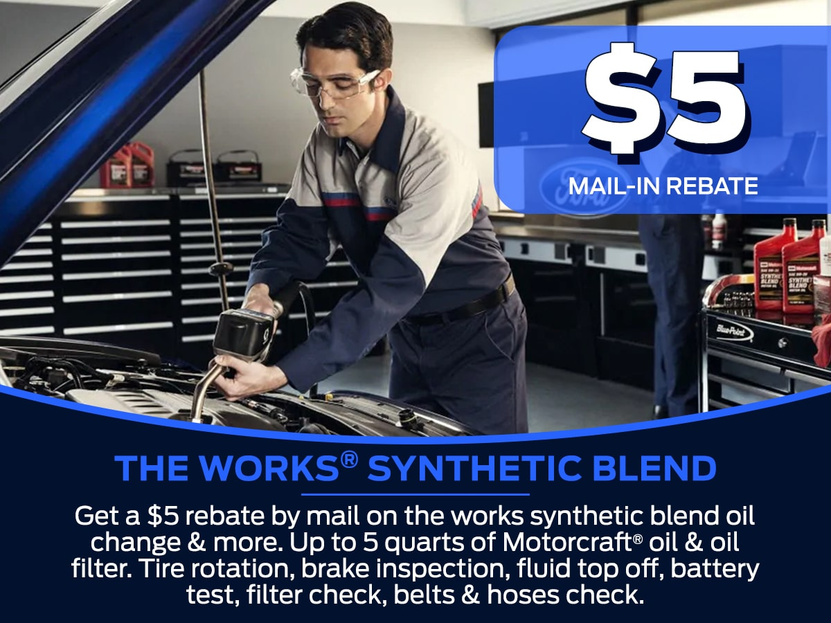 Sam Pack's Five Star The Works® Synthetic Blend Service Special