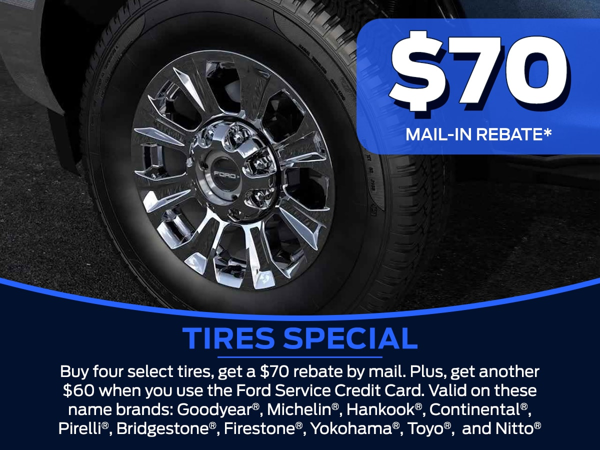 Sam Pack's Five Star Tires Service Special