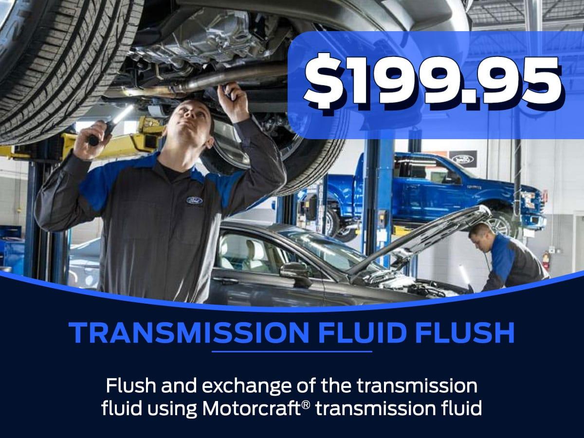 Ford Transmission Fluid Flush Service Special