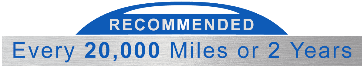 Awesome Ford Recommended Every 20,000 Miles or 2 Years