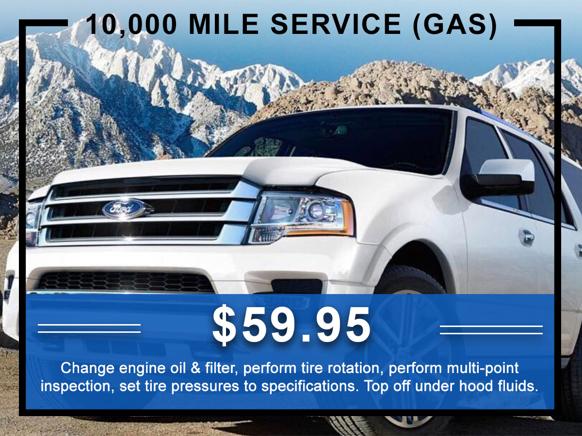 Awesome Ford 10,000 Mile Service Coupon