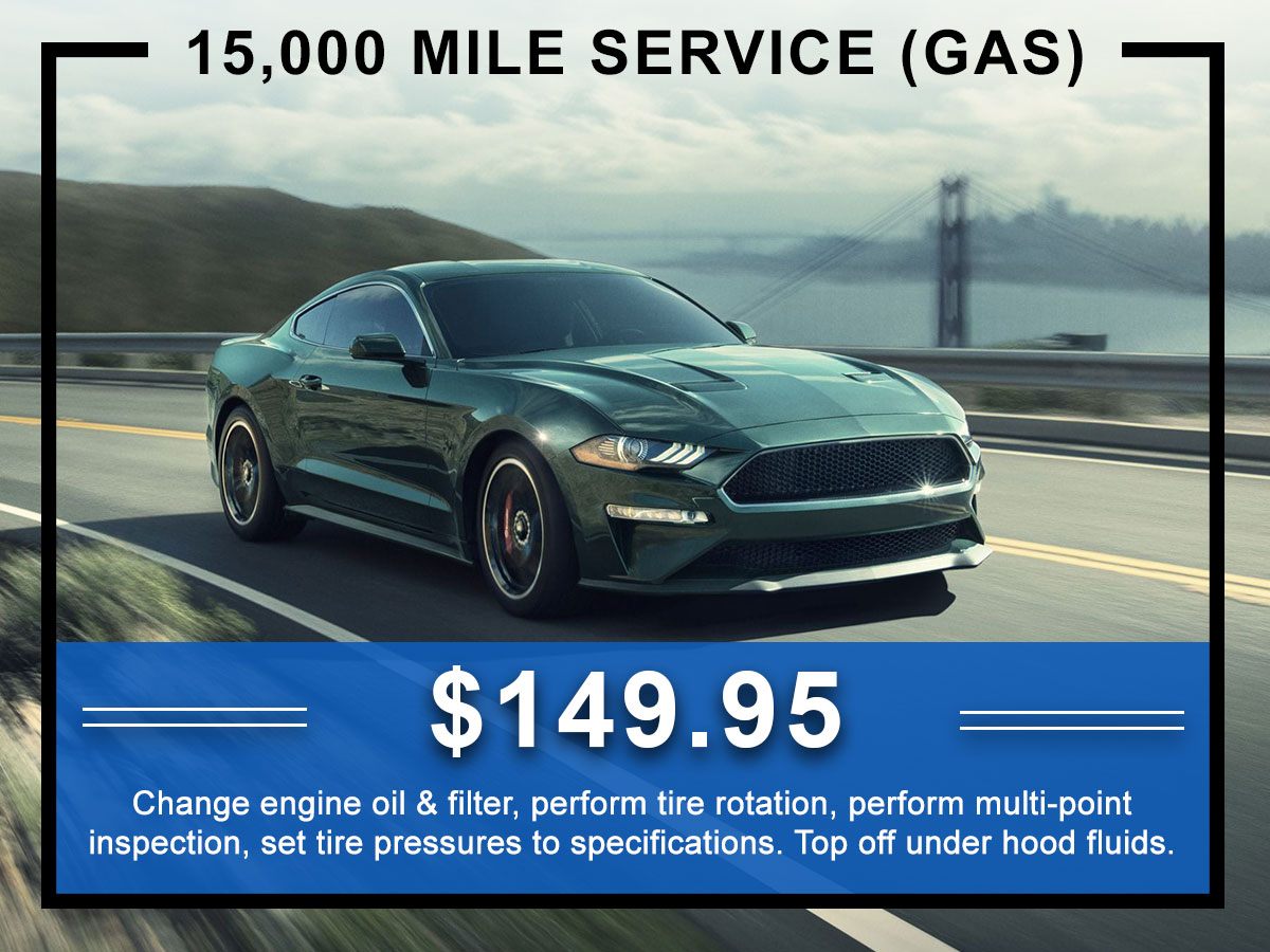 Awesome Ford 15,000 Mile Service Coupon