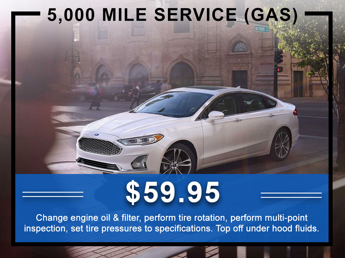 Awesome Ford 5,000 Mile Service Coupon
