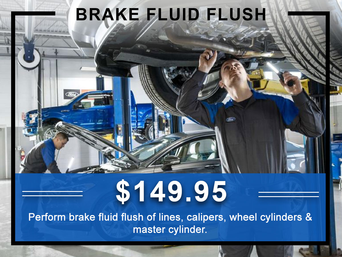 Awesome Ford Brake Fluid Flush Coupon