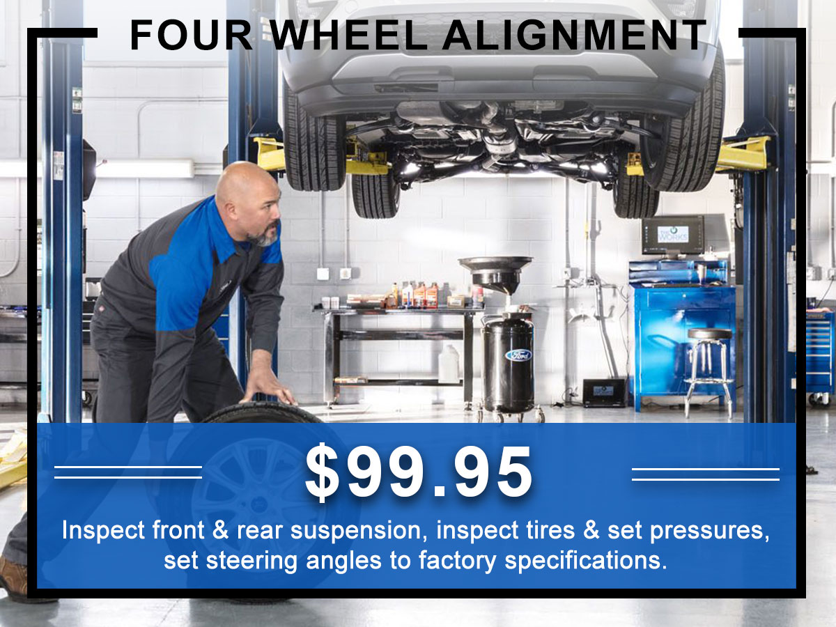 Awesome Ford Four Wheel Alignment Coupon