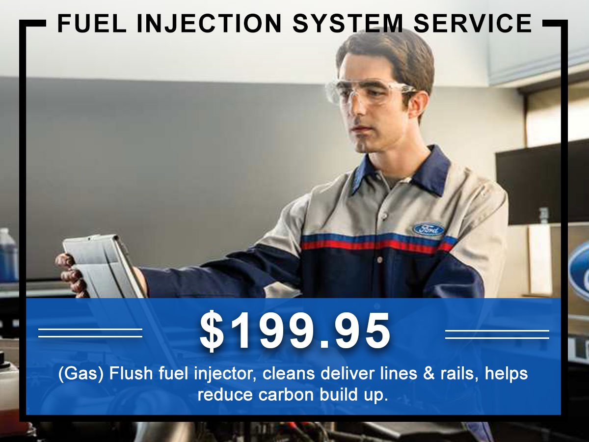 Awesome Ford Fuel Injection System Service