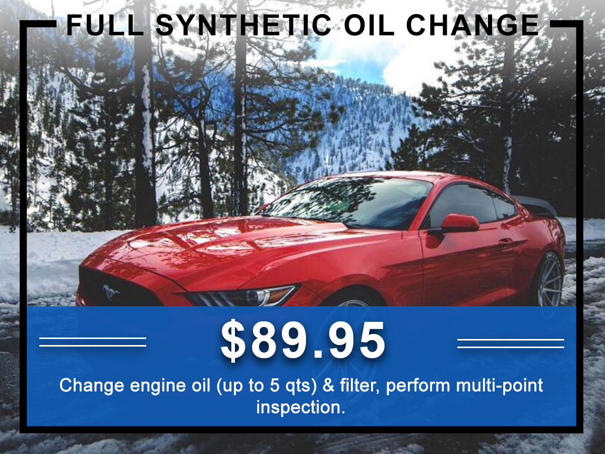 Awesome Ford Full Synthetic Oil Change Coupon