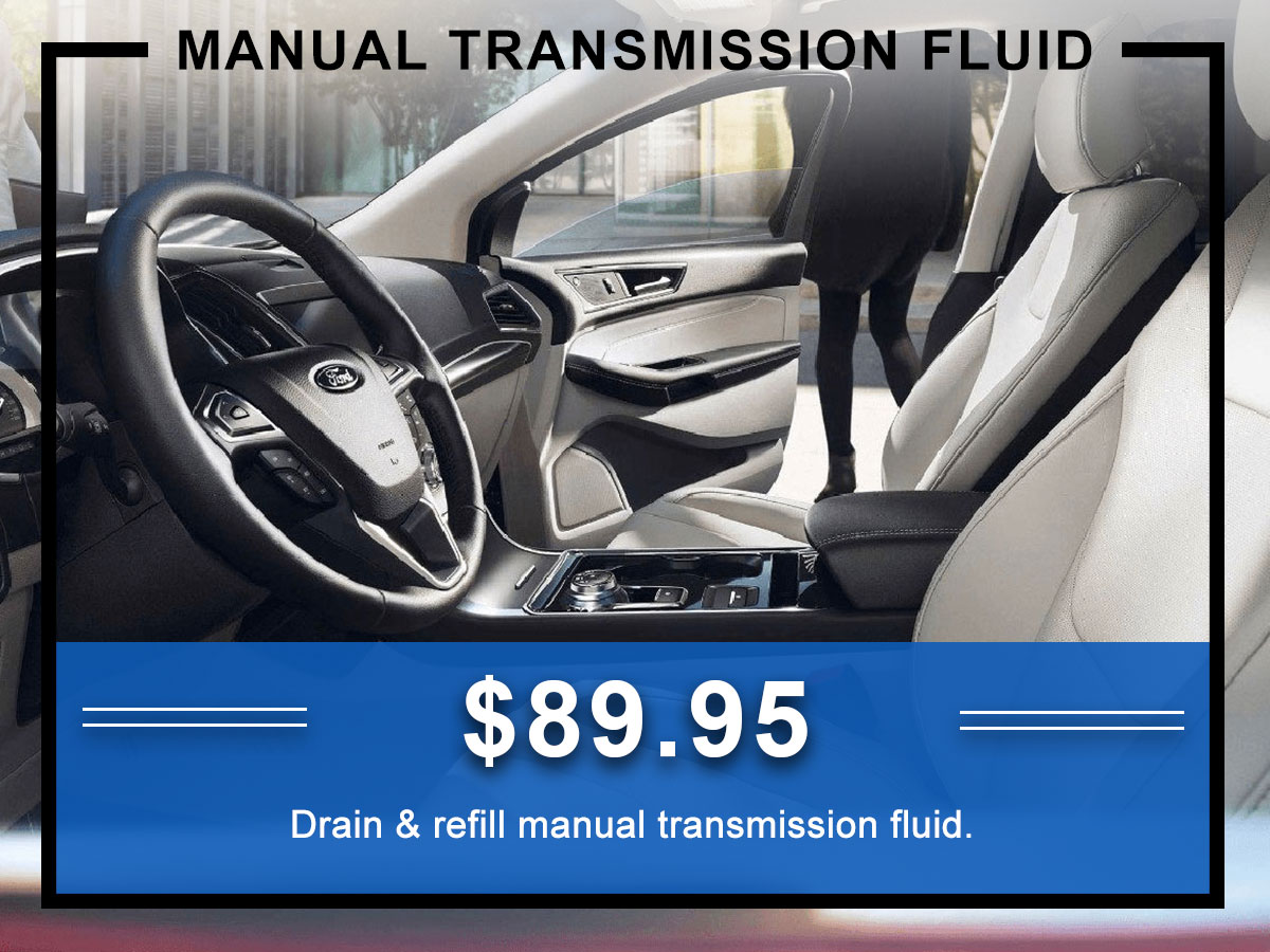 Awesome Ford Manual Transmission Fluid Exchange Coupon