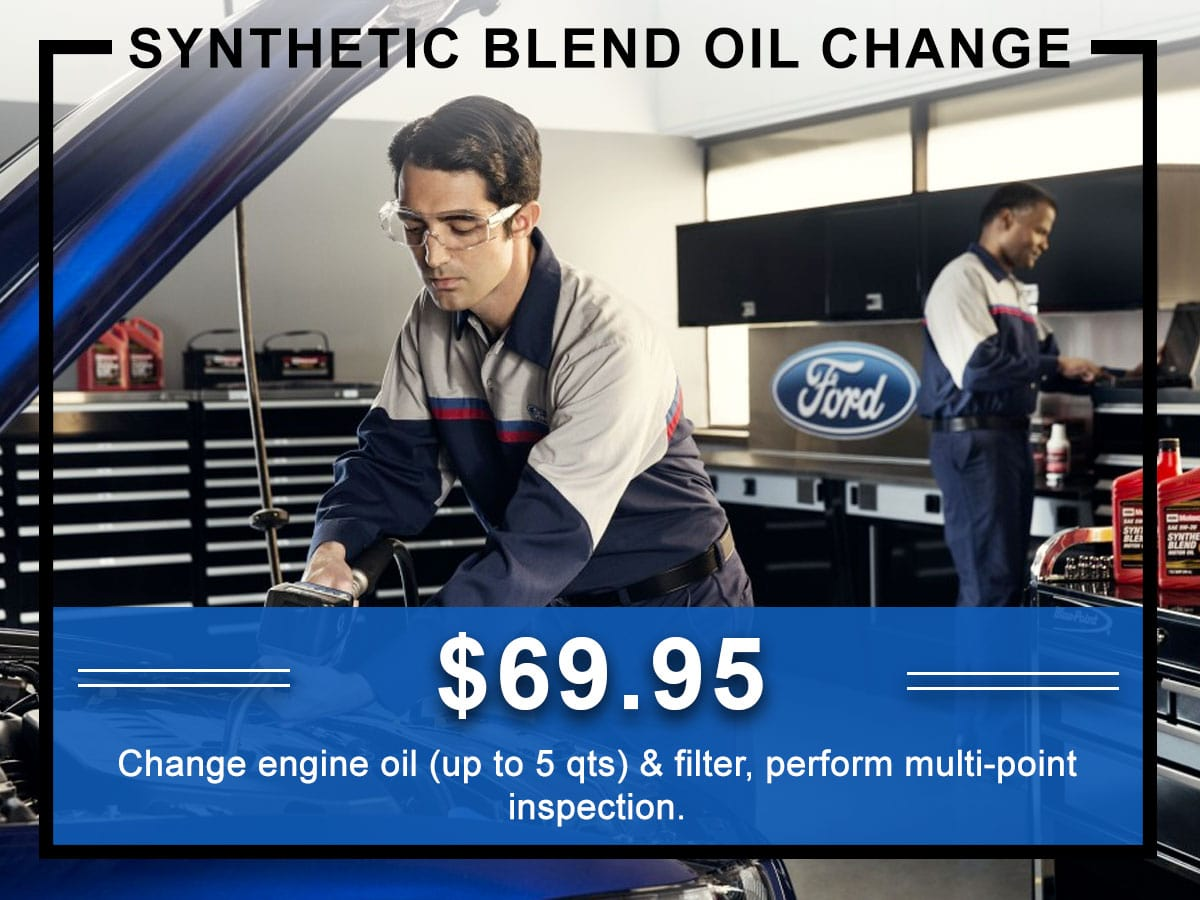 Awesome Ford Non Synthetic Oil Change Coupon