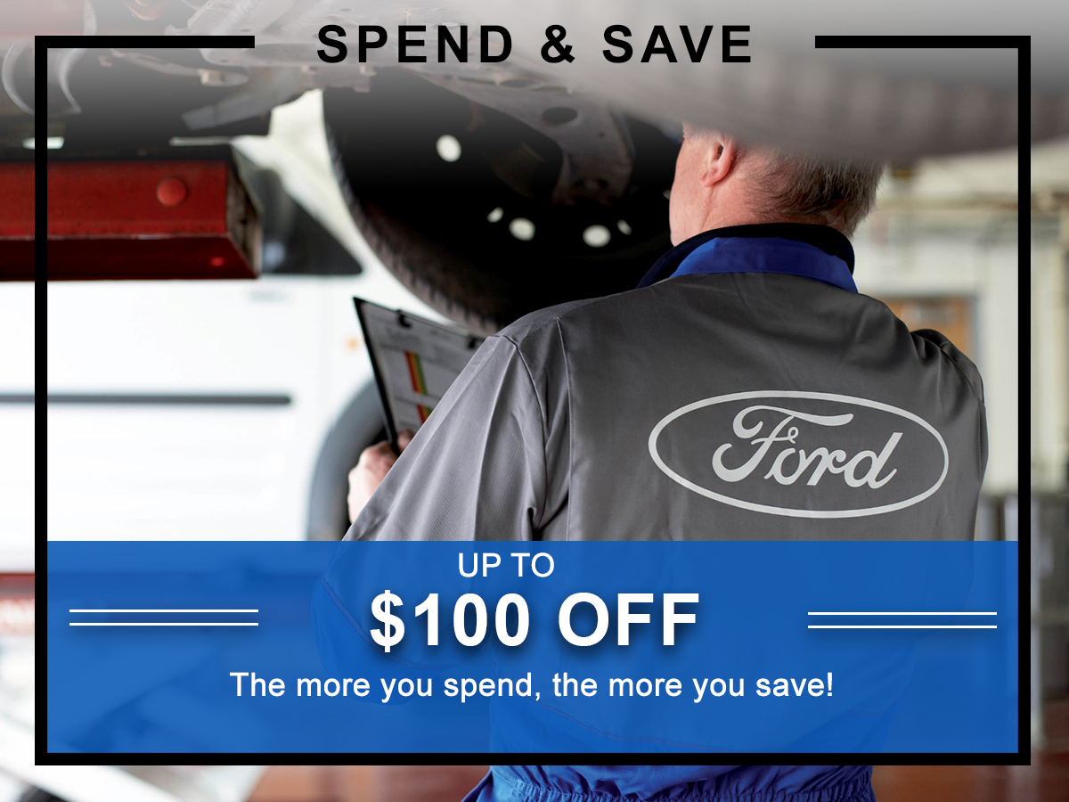 Awesome Ford Spend and Save Service Coupon
