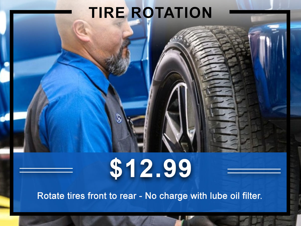 Awesome Ford Tire Rotation Service Coupon