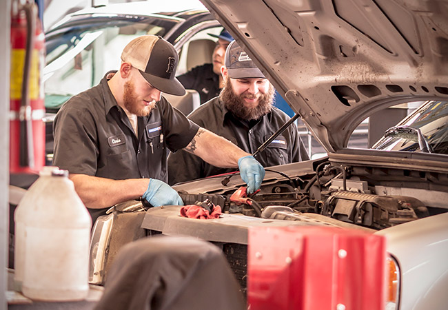 Awesome Ford Service Technicians