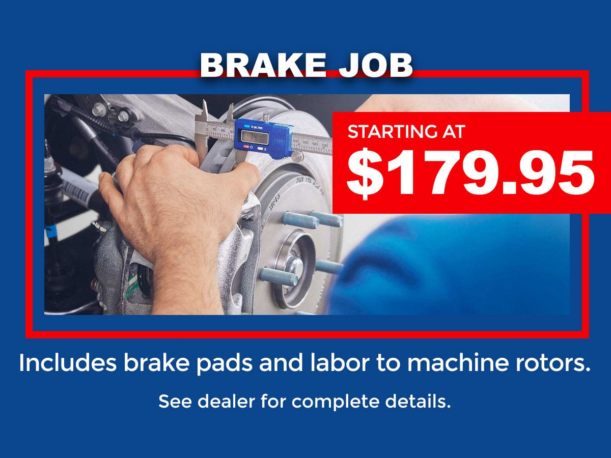Ford brake service