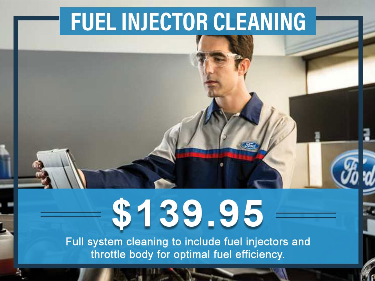 Fuel Injector Cleaning Service Special Tindol Ford