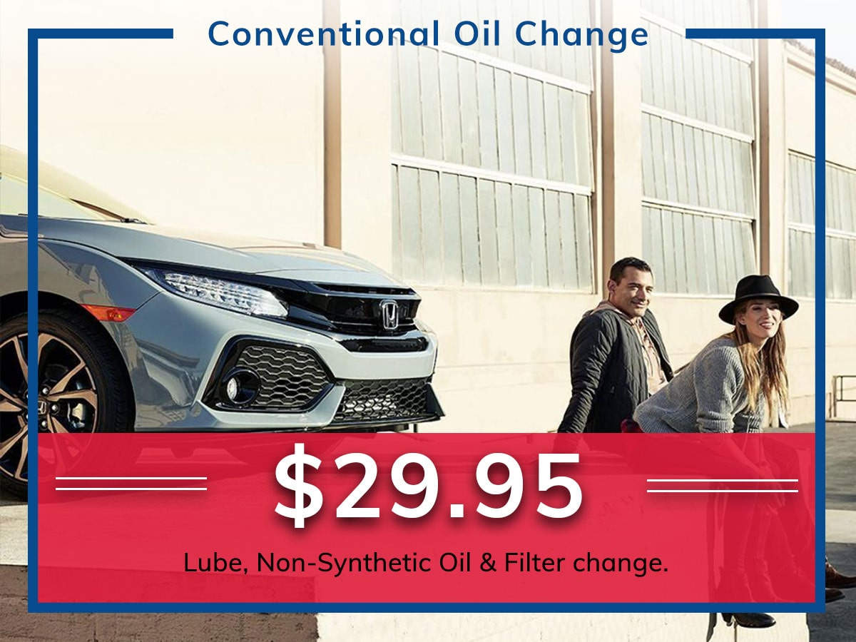 Conventional Oil & Filter Change | Freedom Honda | Colorado