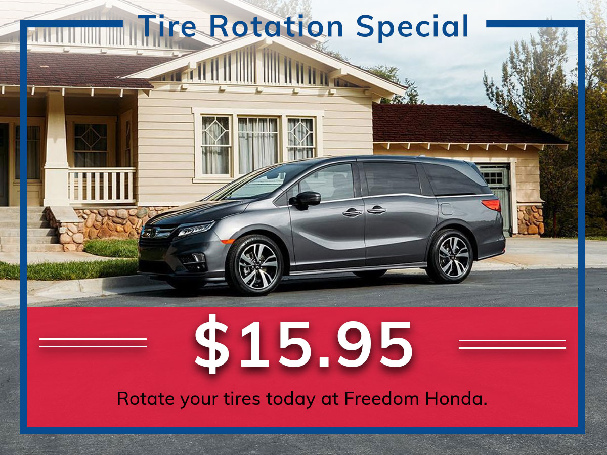 Honda Tire Rotation Service Coupon Discount Special