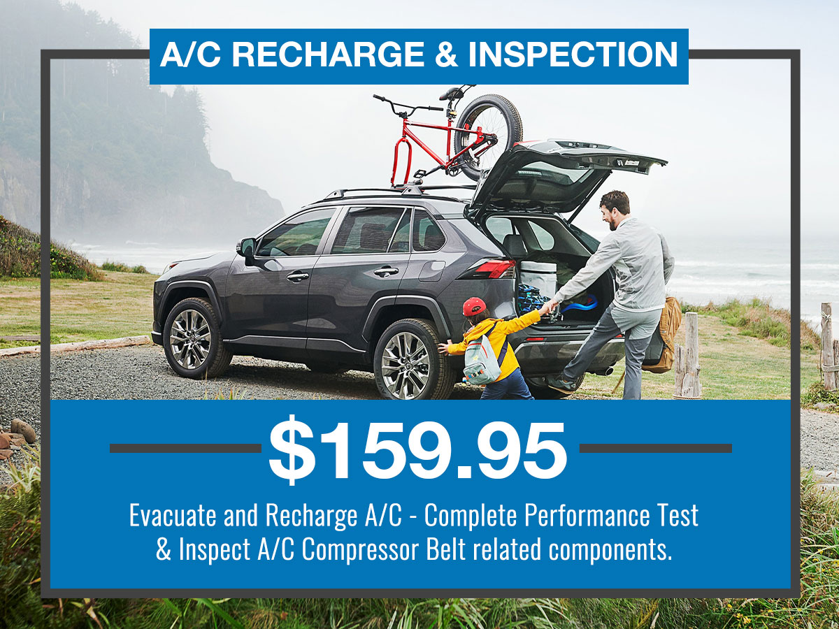 A/C Recharge & Inspection Special Coupon
