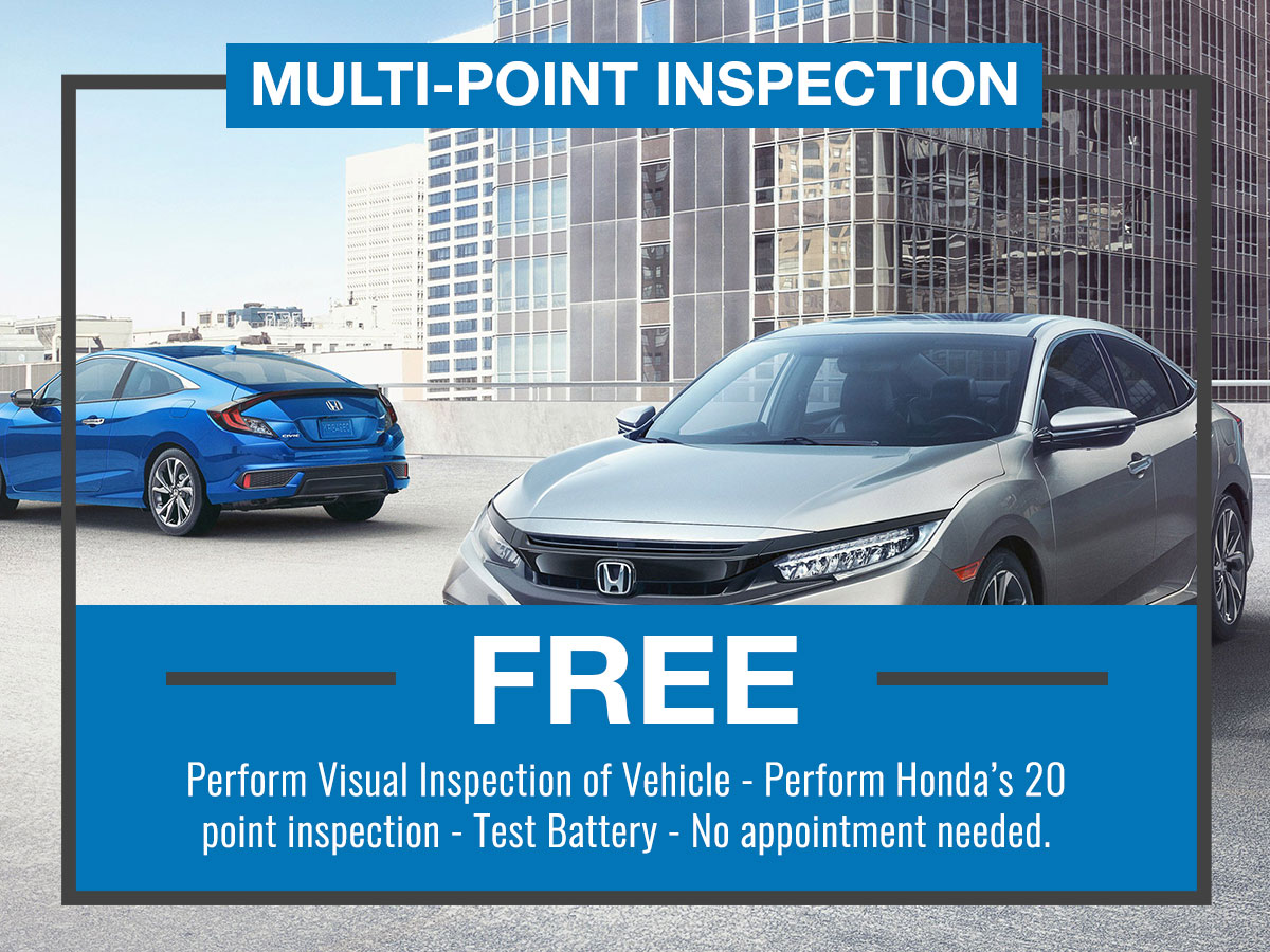 Multi-Point Inspection Special Coupon
