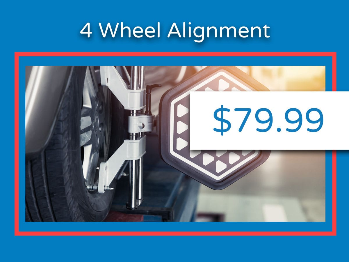 Honda 4-Wheel Alignment Service Coupon