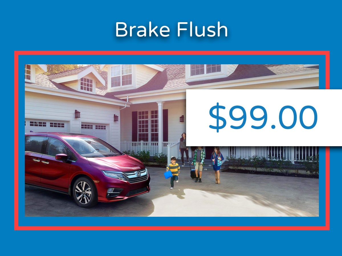 Honda Brake Fluid Flush Coupon