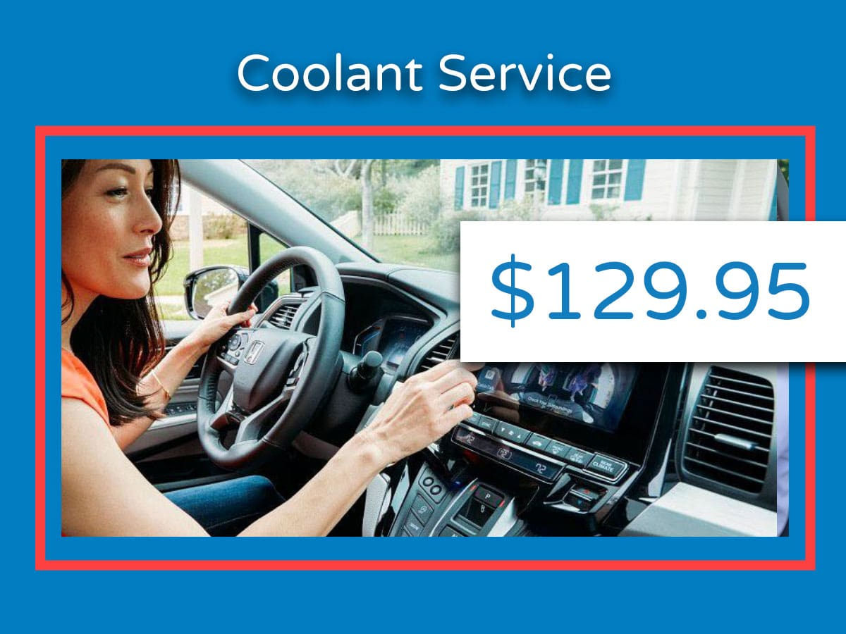 Honda Coolant Service Coupon