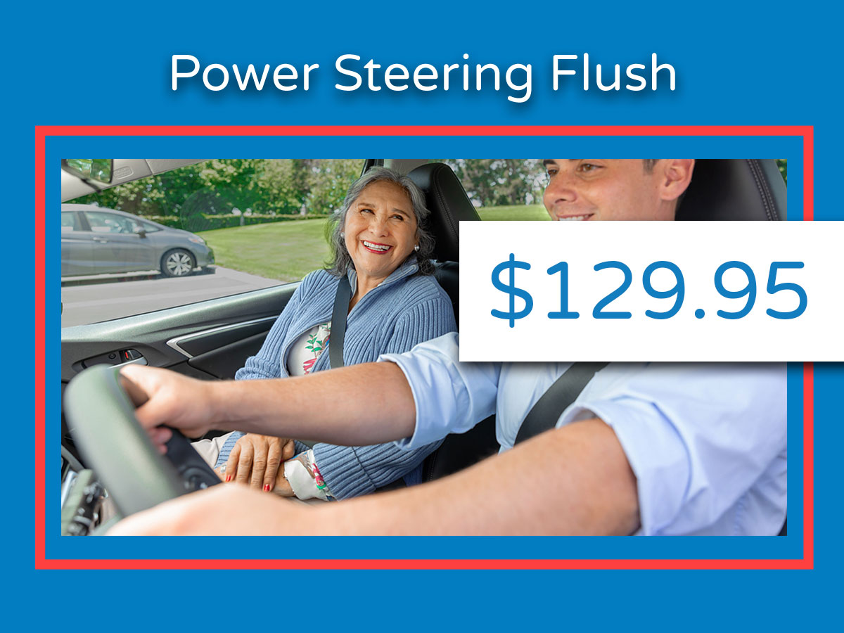 Honda Power Steering Flush Coupon