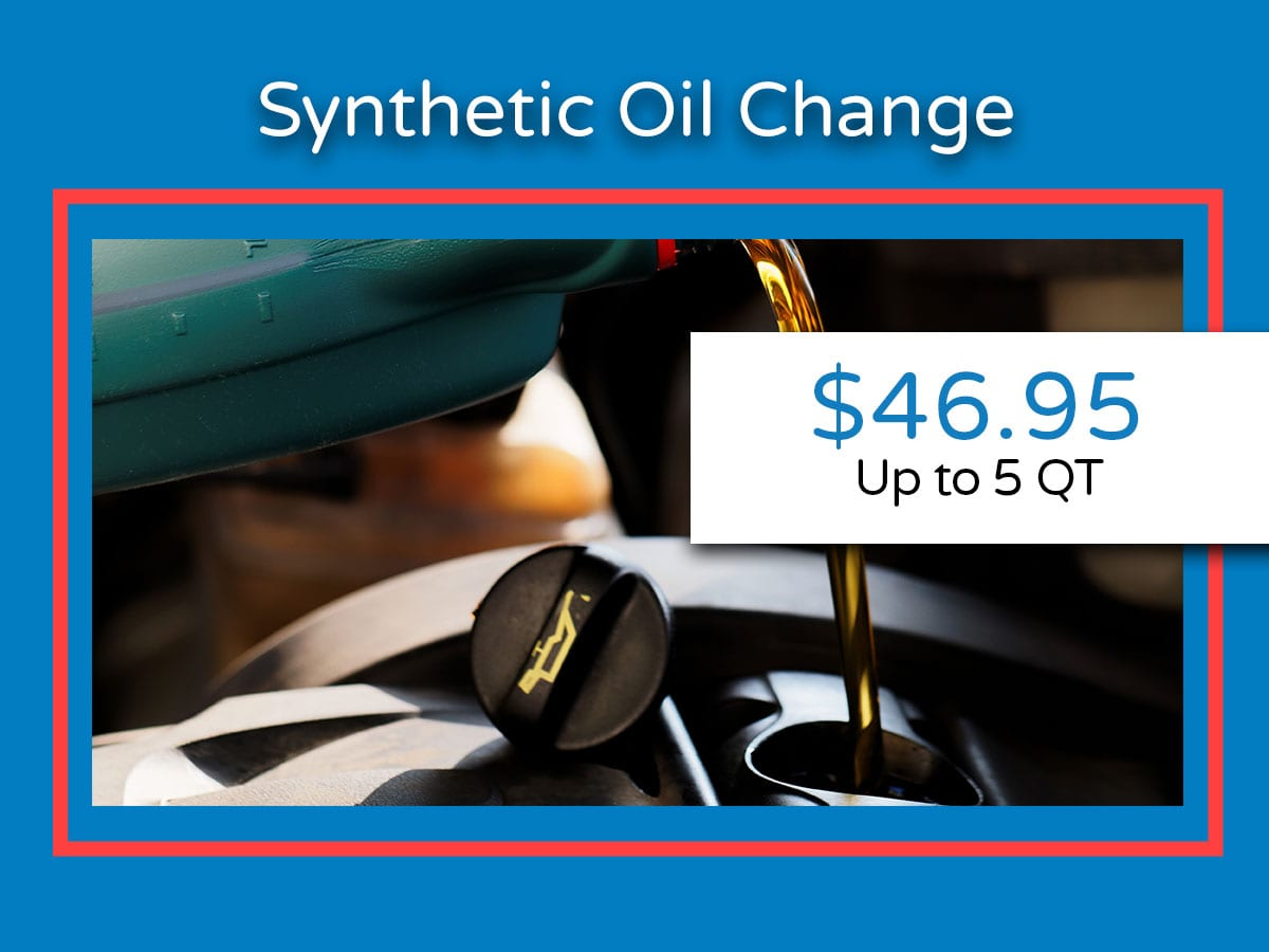 Honda Synthetic Oil Change Coupon