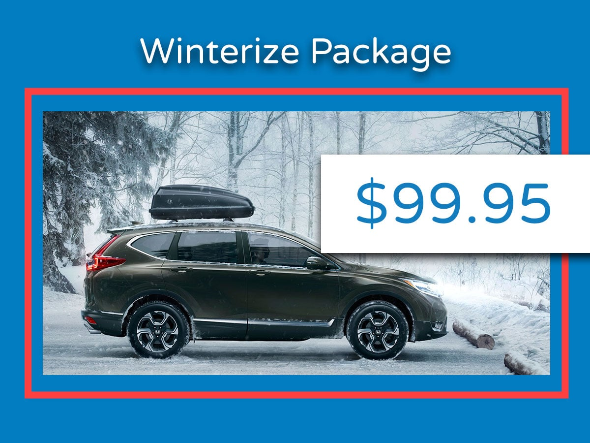 Honda Winterization Package Coupon