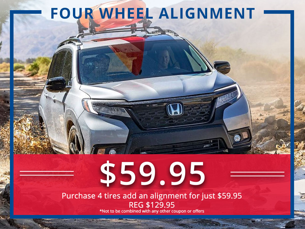 Surprise Honda Four Wheel Alignment Service Coupon
