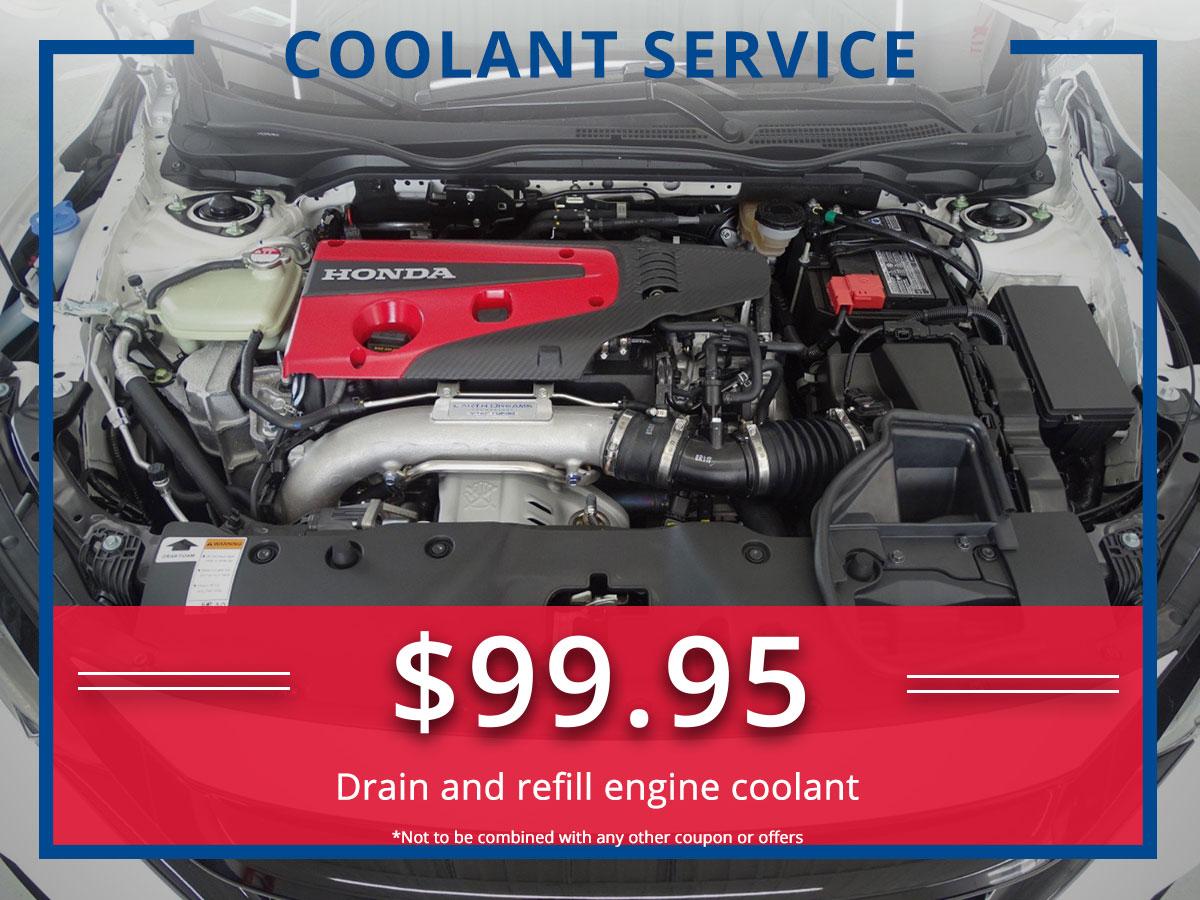 Surprise Honda Coolant Service Coupon