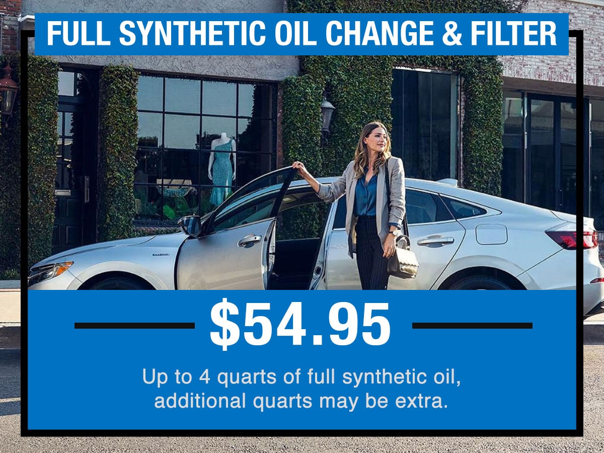 Full Synthetic Oil Change >> Full Synthetic Oil Change Filter Service Tom Wood Honda Of