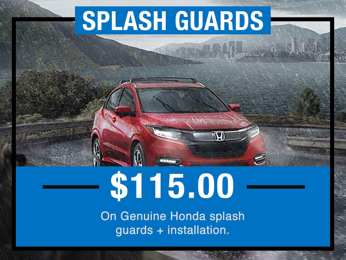Tom Wood Honda Service Specials Coupon Splash Guards of Anderson, IN